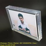 Cadres d'affichage en acrylique en plastique transparent de 5X7 pouces