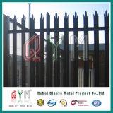 Palisade покрытия порошка PVC стальной ограждая/стальной Palisade обнес забором ковка чугуна