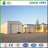 Tipo claro casa de aço pré-fabricada da construção industrial
