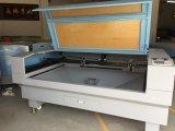 A estaca do laser e grava a máquina para a estaca da tela, material Jieda das sapatas