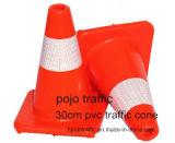 """"""" cono anaranjado fluorescente Pjtc101 de la seguridad en carretera 12"""