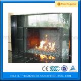 Glace en céramique pour la cheminée, glace de cheminée, glace en céramique