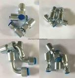 Manguera de alta presión hidráulica 4SH En856 con accesorios