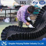Transportband van de Zijwand van de goede Kwaliteit de Grote Hoek GolfMet SGS en Forma