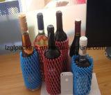 Сеть втулки пластичной пены пользы индустрии бутылки вина плодоовощ качества еды упаковывая