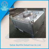 1000 réservoir chimique d'emballage de l'acier inoxydable IBC de litre