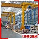 세륨 Certificated (0.5t, 1t, 2t, 3t, 5t, 10t)를 가진 지브 Crane