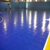 高品質サッカー/Futsal裁判所のための屋内PVC/PPの連結の床が付いている2017新製品