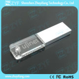 Super Thin 3D Logo Acrylics Crystal USB Flash Drive (ZYF1507)