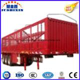3 de Semi Aanhangwagen van de Lading van het Nut van het Vervoer van de Omheining van de tri-As van de Staak van assen