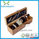 Vente en gros en bois de boîte à vin de qualité de luxe faite sur commande