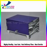 Прямоугольное изготовленный на заказ изготовление коробки ювелирных изделий бумаги логоса
