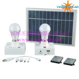 con Remote Control e Mobile Phone Charger 3W Solar Lamp