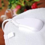 Cobertor Heated dobro branco de cobertor elétrico do poliéster