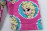 Peignoir bordé en poudre de Diseny d'Childre en 100% Polyester