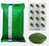 Perdita di peso morbida verde chiaro scura naturale di Mzt del gel di 100% che dimagrisce capsula