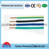 Cabo elétrico isolado PVC da potência de cobre da BV do condutor