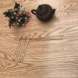 Plancher choisi dans l'environnement d'or de planche de vinyle de PVC de plancher
