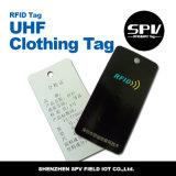 衣類管理UHF受動RFIDのこつの札RFIDのため