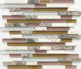 Linear Tile Glass & Stone Mosaic