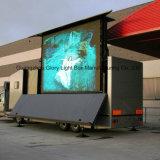 Mur polychrome extérieur modèle de vidéo de Fexible P10 LED