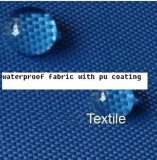폴리에스테 600d/PU Fabric 7-8 Grade Color Fastness