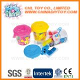 Kleurrijke Plasticine van het Speelgoed van de Veiligheid van jonge geitjes de Onderwijs die met Vormen wordt geplaatst