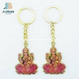 기념품을%s 주문 공급 합금 주물 인쇄 금속 불교 Keychain