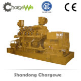 gerador elétrico de Biomas do biogás do dossel silencioso da potência do motor de gás do metano 10kw-1.5MW