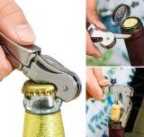 さまざまな様式亜鉛合金のワインおよび栓抜き