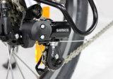 Bici plegable eléctrica plegable de 20 pulgadas con la batería de litio