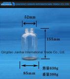 Tarro de cristal sin plomo de la categoría alimenticia para el almacenaje