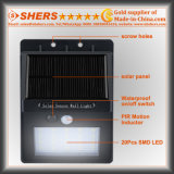 20 SMD LED Solarbewegungs-Fühler-Licht für im Freien (SH-2600)