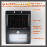 Luz solar del sensor de movimiento de 20 SMD LED para al aire libre (SH-2600)