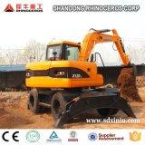 Землечерпалка X120-L колеса, землечерпалка покрышки 12 тонны для сбывания в Китае в Азии
