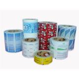 O papel da folha de alumínio para a almofada da preparação do álcôol, molhou os Wipes que empacotam o papel