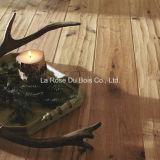 Роскошной выскобленный рукой настил древесины дуба/проектированный деревянный пол (партер)