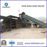 여보세요 Baler Company에서 폐지 자동적인 짐짝으로 만들 기계