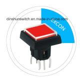 El tacto cambia Ts1 con el interruptor ligero del botón