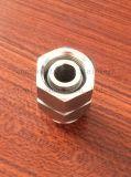 Nippel des Edelstahl-Rohrfitting-DIN2999 vom Hex Stab