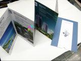 Alette di filatoio di pubblicità di alta qualità/stampa dell'opuscolo/catalogo/opuscolo con il colore completo