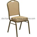 レストランの家具の王冠の多彩なファブリックが付いている背部スタッキングの宴会の椅子