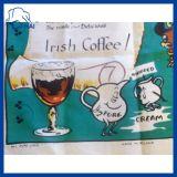 아이리시 커피 만화에 의하여 인쇄되는 티 타올 (QESF994545)