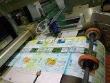 Computergesteuerte heiße Goldfolie, die Papierschneidemaschine stempelt