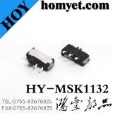 переключатель скольжения 6pin SMD (MSK-1132)
