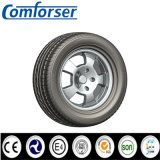 O radial do passageiro monta pneus 185/55r15, 195/55r15, 205/55r15 com certificado do ECE