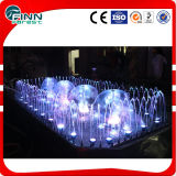 diodo emissor de luz Decorative Musical Dancing Rectangle Fountain de 2*4m