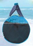De nieuwe Zak van de Haai van de Gymnastiek van de Mensen Ripstop van de Hemel van pvc van het Modieuze Broodje Hoogste Waterdichte Blauwe Zwemmende met Nat Compartiment