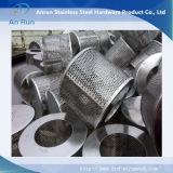 Feuille en aluminium de trou rond pour des tubes