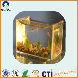 Placa acrílica barata do plástico do tanque de peixes PMMA dos aquários